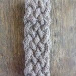 Lucky Celtic Cable Headband